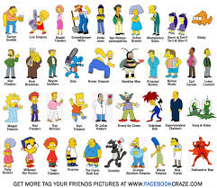The Simpsons wallpaper called Simpsons Characters