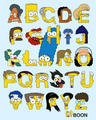 Simpsons alphabet - the-simpsons photo