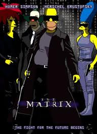 Simpsons in The Matrix