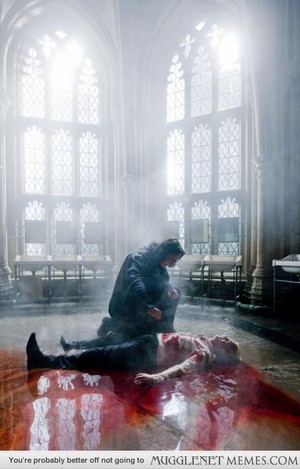 Snape healing Draco promo
