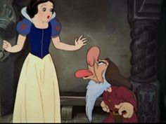 Snow White and Grumpy-Screencap.