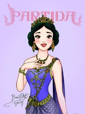 Snow White in Thai Costume