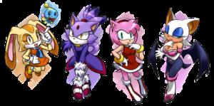 Sonic Females<3