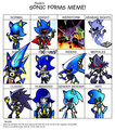 Sonic Forms Meme - Robot Sonic
