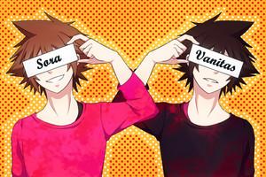 Sora and Vanitas
