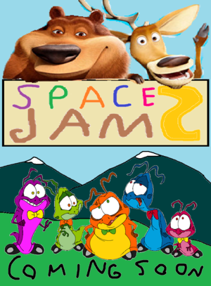 Space جام 2 (Fanmade Movie Poster)