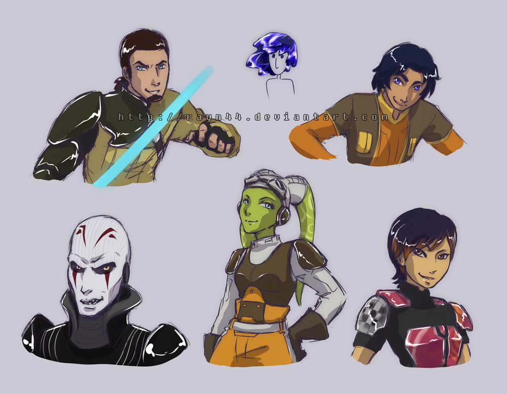 Star wars rebels star wars rebels sketches