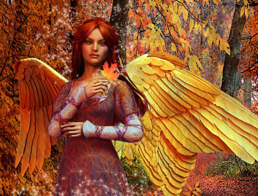 Starry Angel