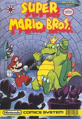 Super Mario Bros. Golden Age Size covers
