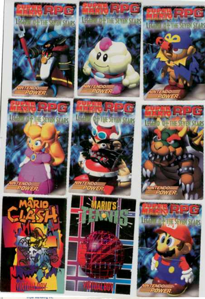 Super Mario RPG Cards