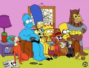 Superhero Simpsons