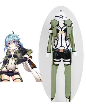 Sword Art Online Ⅱ Phantom Bullet Sinon Cosplay Costume