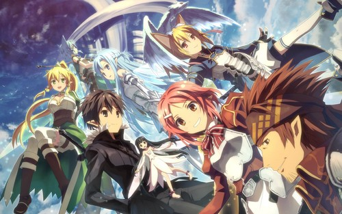 Sword Art Online wallpaper with anime entitled Sword Art Online