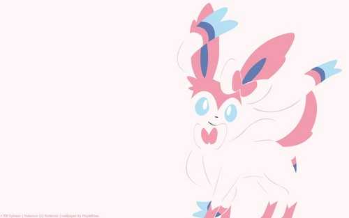 Legendary Pokemon Wallpaper Entitled Sylveon Eeveelution