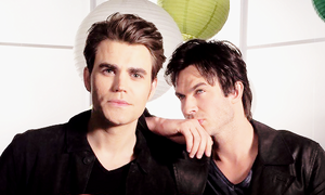 TVD Cast BTS of S6 Promotional Shoot