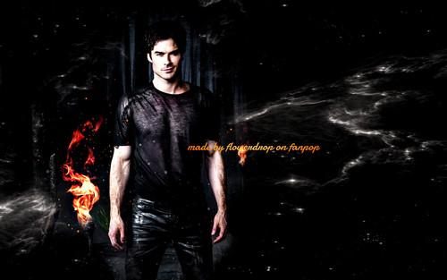 Vampire Diaries – Fernsehserie Hintergrund titled TVD Hintergrund ღ