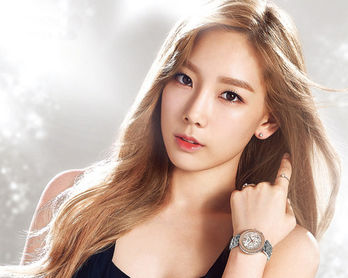 Girls Generation/SNSD wallpaper containing a portrait entitled Taeyeon ~Casio Sheen Baby G-Watches❤ ❥