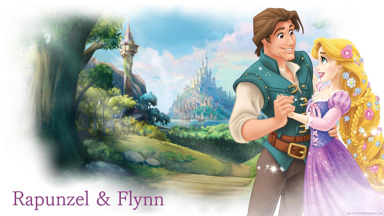 Tangled Couple Disney Princess Wallpaper 37732287 Fanpop