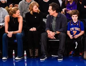 Taylor At Kicks Game in NY 2014