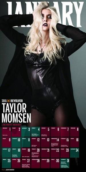 Taylor Momsen in REVOLVER Magazine's 2015 Calendar