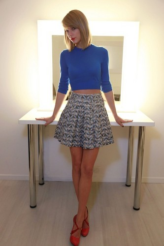 Taylor Swift wallpaper with a skirt titled Taylor Swift Photoshoot