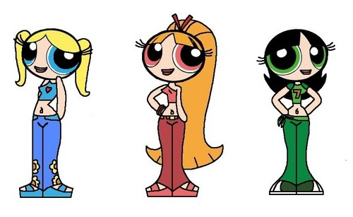 Powerpuff Girls wallpaper entitled Teenage Powerpuff Girls