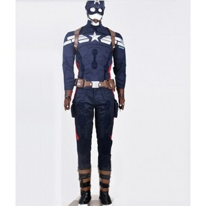 The Avengers Captain American Cosplay Costume