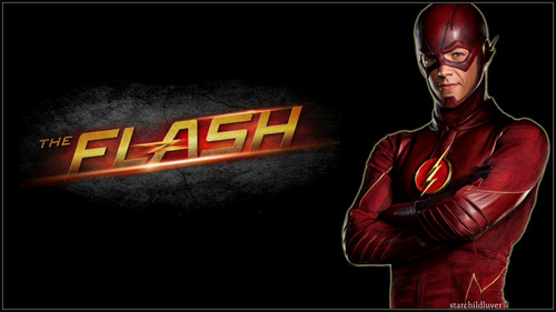 The Flash (CW) fond d'écran titled The Flash