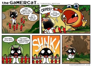 The GaMERCaT Comics