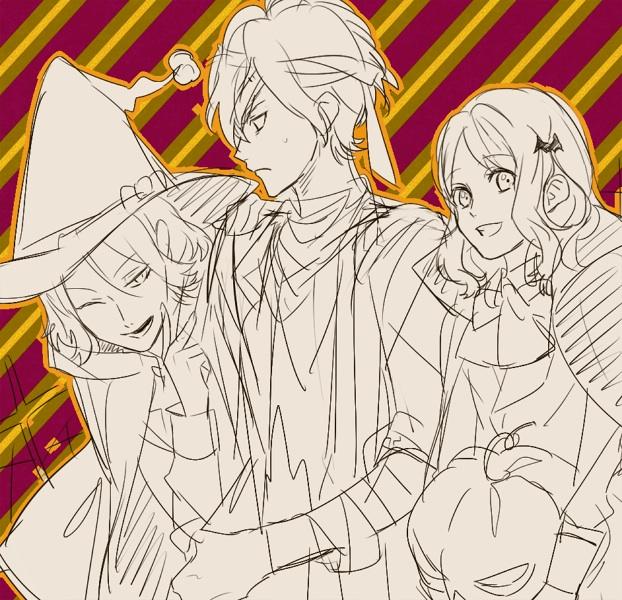 [Halloween] Laito, Subaru and Yui
