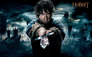 The Hobbit: The Battle Of The Five Armies - Bilbo and Sting