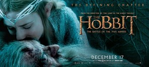 The Hobbit: The Battle Of The Five Armies - Gandalf and Galadriel Banner