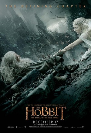 The Hobbit: The Battle Of The Five Armies - Gandalf and Galadriel Poster