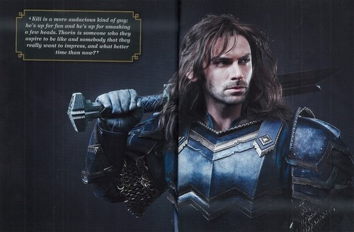 द हॉबिट वॉलपेपर containing a breastplate, an armor plate, and a fauld, फाउल titled The Hobbit: The Battle Of The Five Armies - Official Movie Guide
