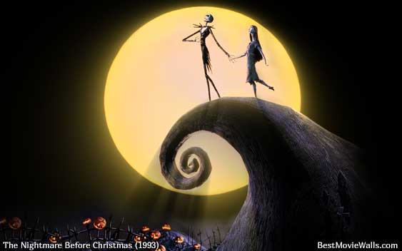 The Nightmare Before 圣诞节 ~ Jack and Sally