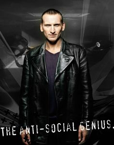 The Ninth Doctor: the anti-social genius