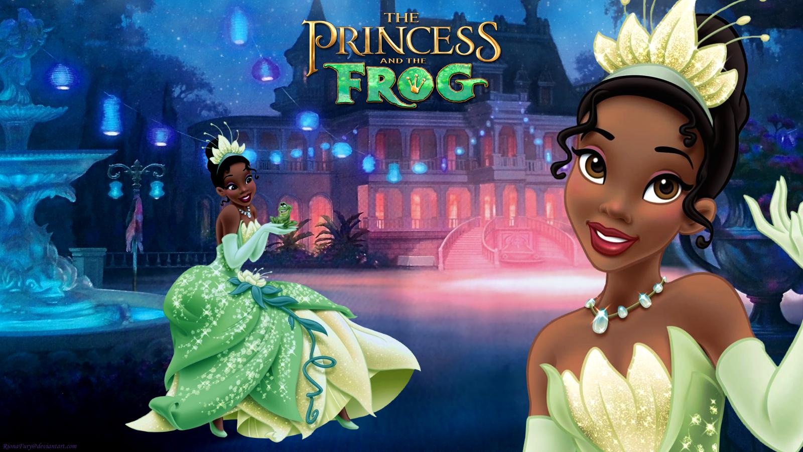 The Princess And The Frog Princess Tiana Wallpaper 37740125