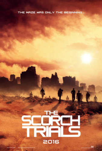 The Maze Runner wallpaper possibly with a sunset called The Scorch Trials
