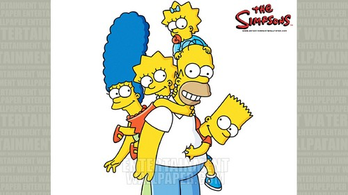 The Simpsons wallpaper possibly containing anime titled The Simpsons