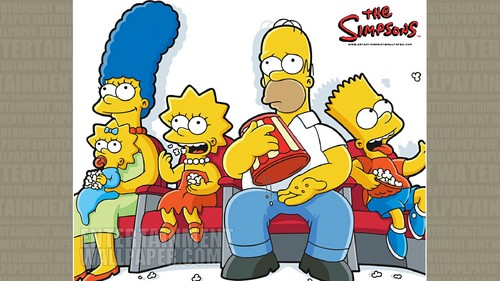 The Simpsons wolpeyper containing anime titled The Simpsons