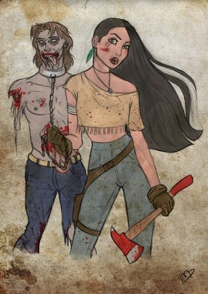 The Walking Dead - ディズニー version