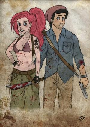 The Walking Dead - 디즈니 version