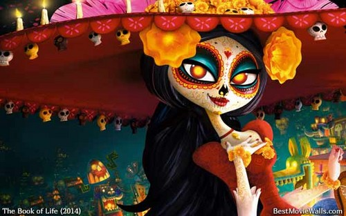 Le eroine dei cartoni animate della nostra infanzia wallpaper entitled The beautiful Skeleton Carmen from The Book of Life