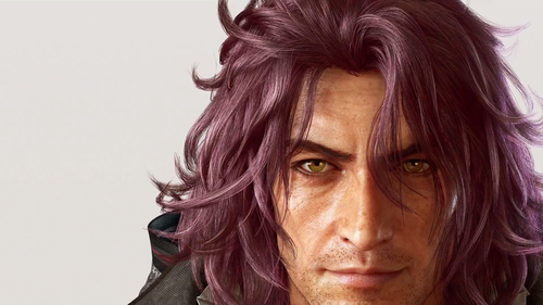 "Final Fantasy XV achtergrond titled The ""not Reno"" guy"