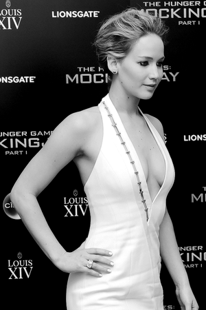The world premiere of The Hunger Games: Mockingjay Part 1 , 10 Nov 2014