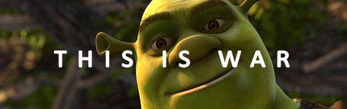 শ্রেক দেওয়ালপত্র entitled This is my swamp