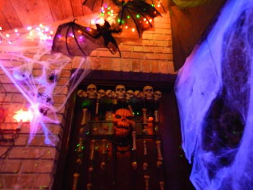 हैलोवीन वॉलपेपर possibly containing a सड़क, स्ट्रीट titled Threshold of Doom