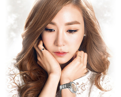 Girls Generation/SNSD wallpaper with a portrait titled Tiffany~Casio Sheen Baby G-Watches❤ ❥