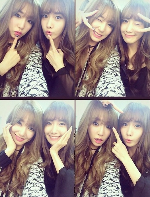 Tiffany and Yoona Matching Bangs