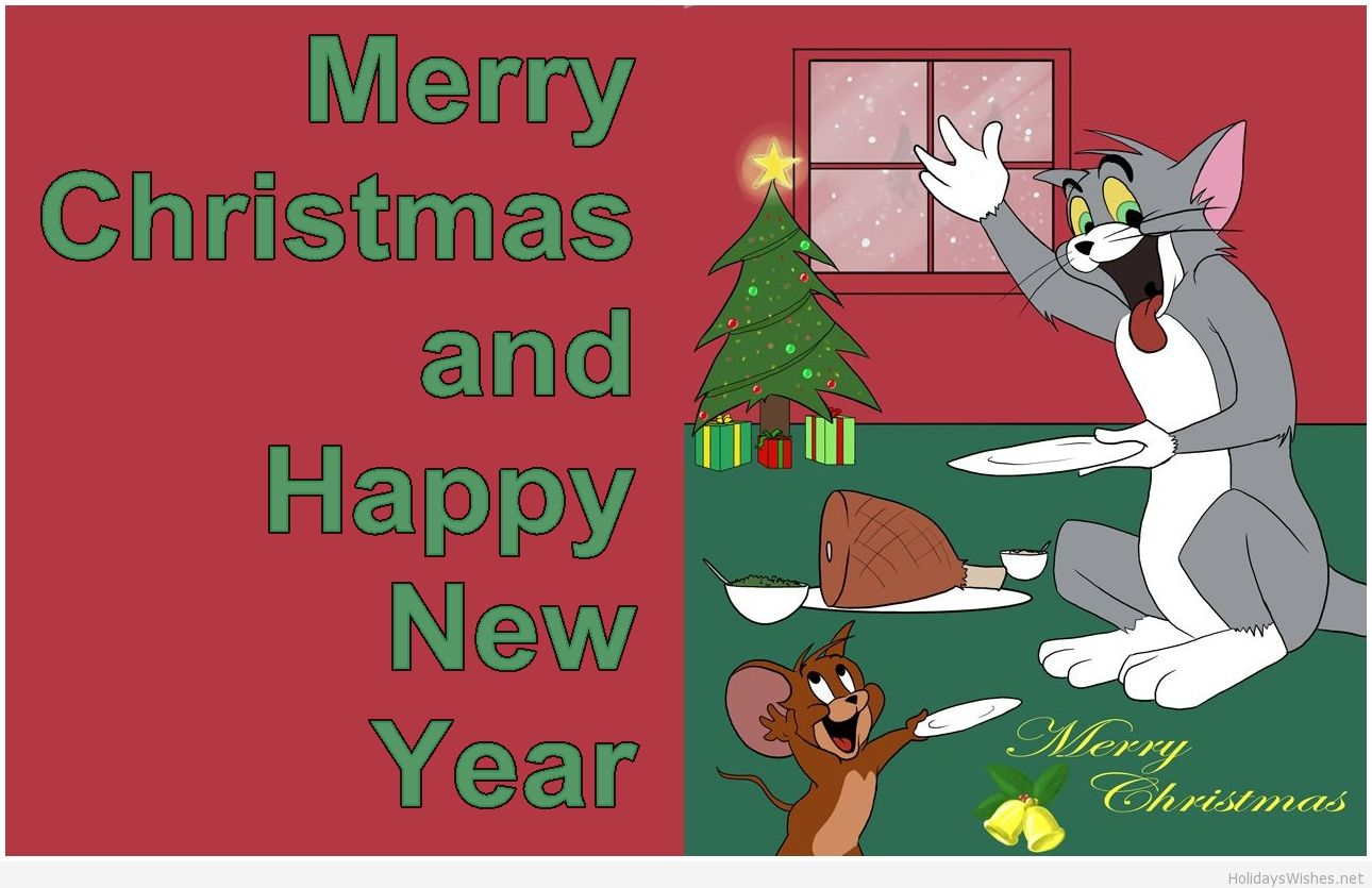 Tom and Jerry images Tom and Jerry Christmas Wallpaper HD wallpaper ...